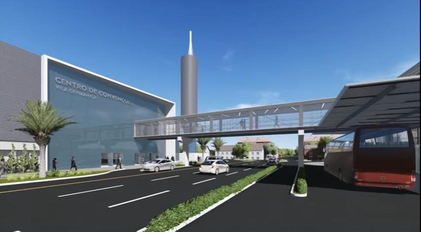 Compromisso do governador torna Centro de Convenções Vila Germânica realidade