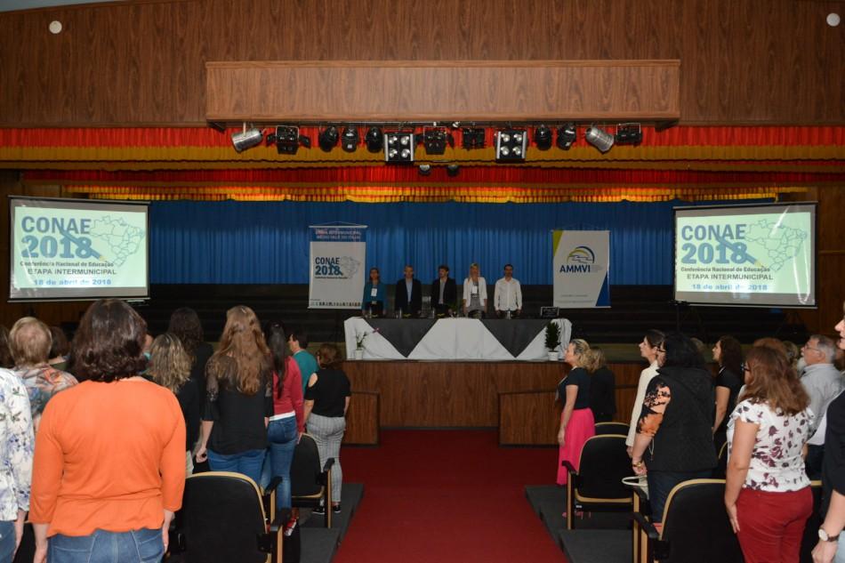 Etapa da Conferência Nacional de Educação reúne 14 cidades em Blumenau