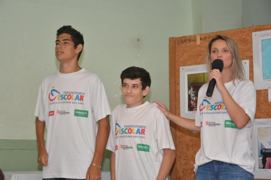 Blumenauenses são convocados para Seleção Paralímpica Brasileira