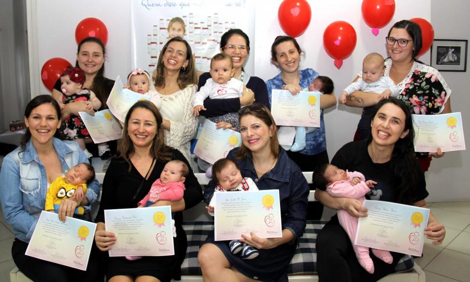 Banco de Leite Humano promove homenagem para as doadoras