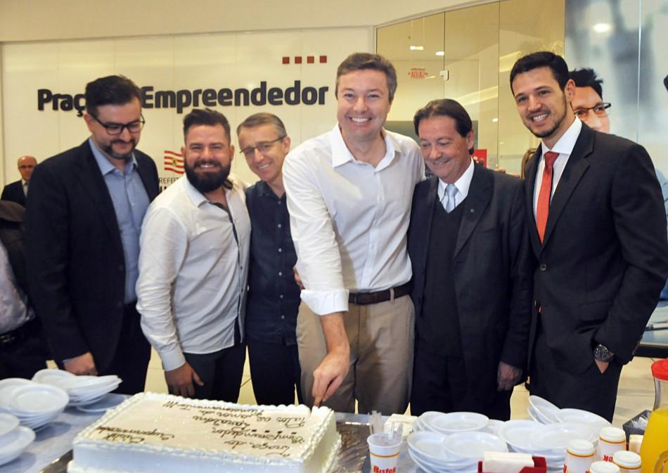 Praça do Empreendedor completa dois anos com mais de 7 mil empresas abertas