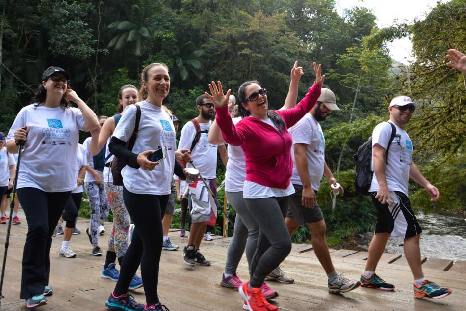Caminhada das Nascentes reúne mais de 140 pessoas no domingo