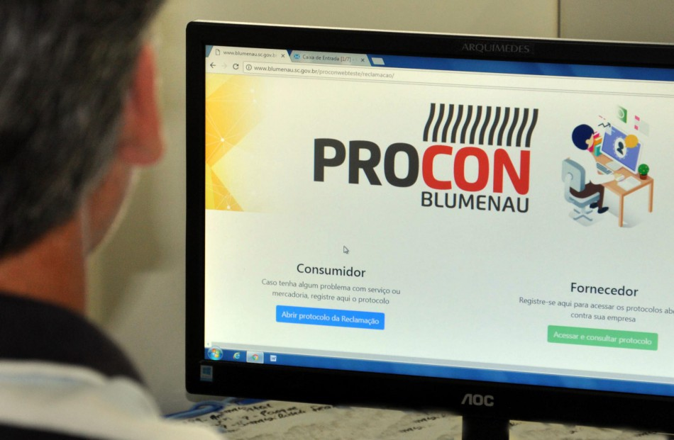 Procon de Blumenau lança o Sistema Web Reclamação Online