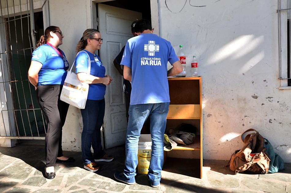 Consultório na Rua oferece assistência à população em situação de rua