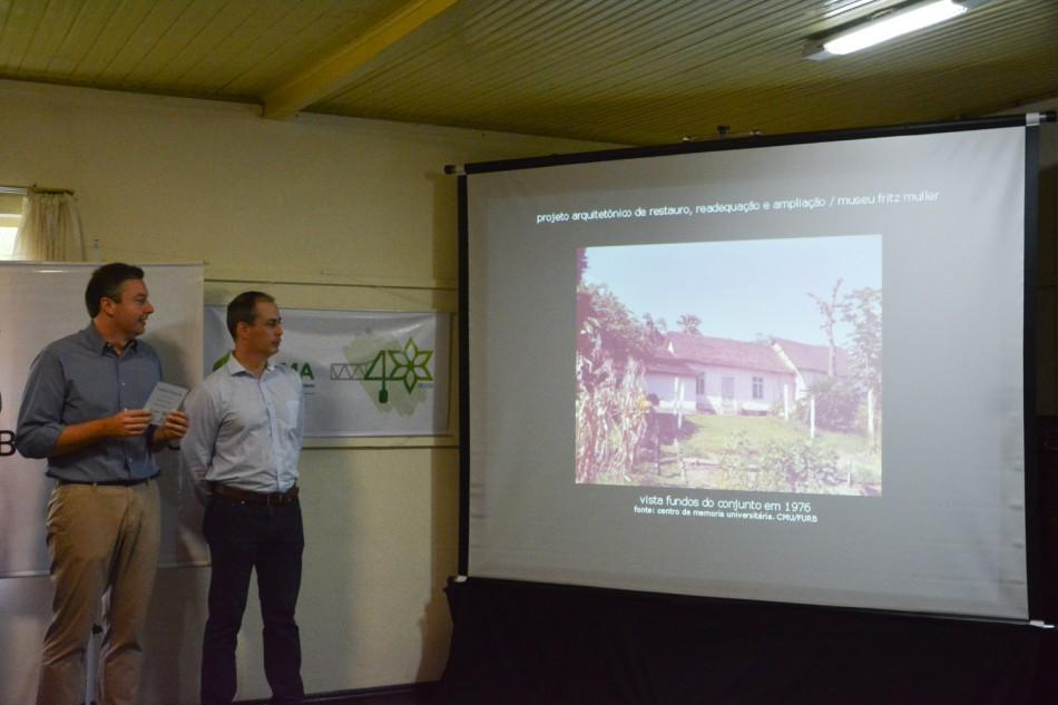 Projeto de restauração do Museu Fritz Müller é apresentado à comunidade