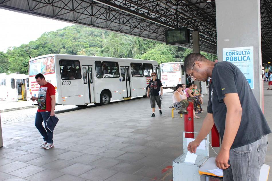 Prefeitura recebe cerca de 2.500 sugest�es nas consultas p�blicas do transporte coletivo