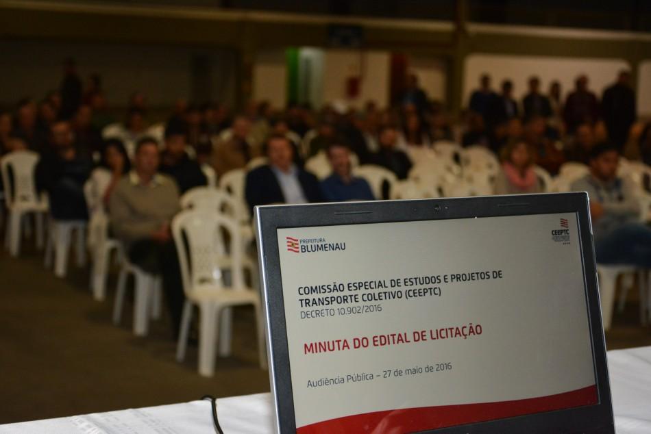 Audi�ncia P�blica apresenta minuta do edital para nova concess�o do transporte coletivo