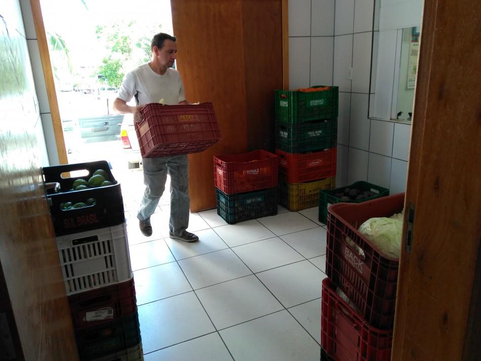 Banco de Alimentos reaproveita 129 toneladas de comida em 2017