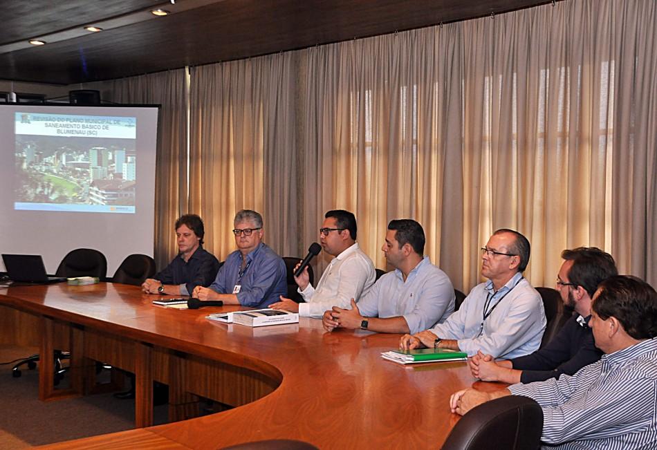 Plano Municipal de Saneamento é apresentado