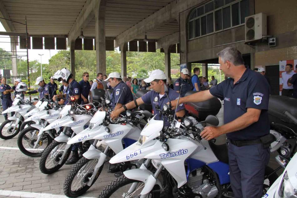 Seterb amplia frota de motocicletas da Guarda de Trânsito