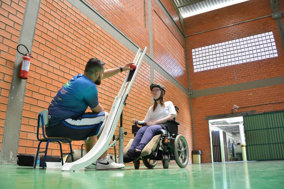 Polo do Paradesporto na Vila Itoupava facilita acesso de alunos
