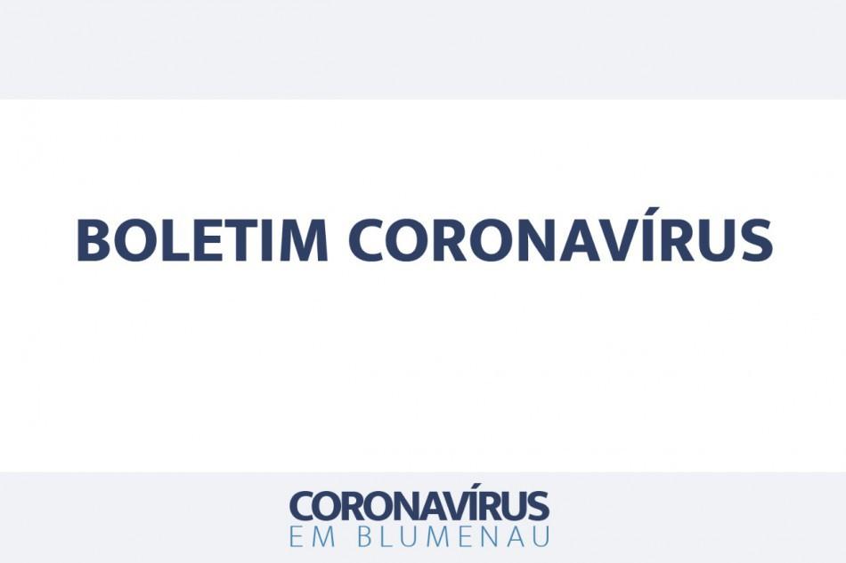 Boletim Coronavírus Blumenau - 23/06/2021