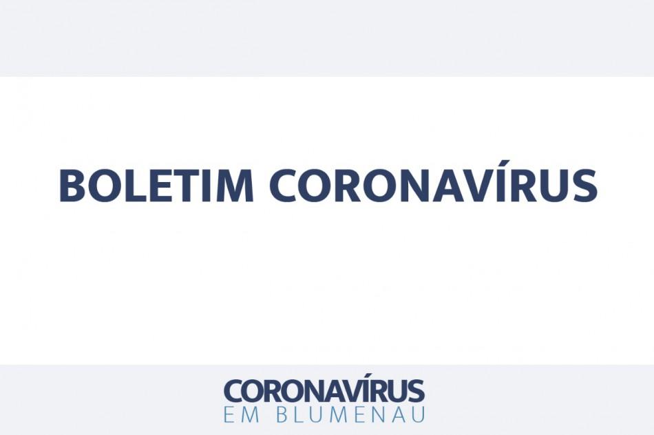 Boletim Coronavírus Blumenau - 17/10/2020