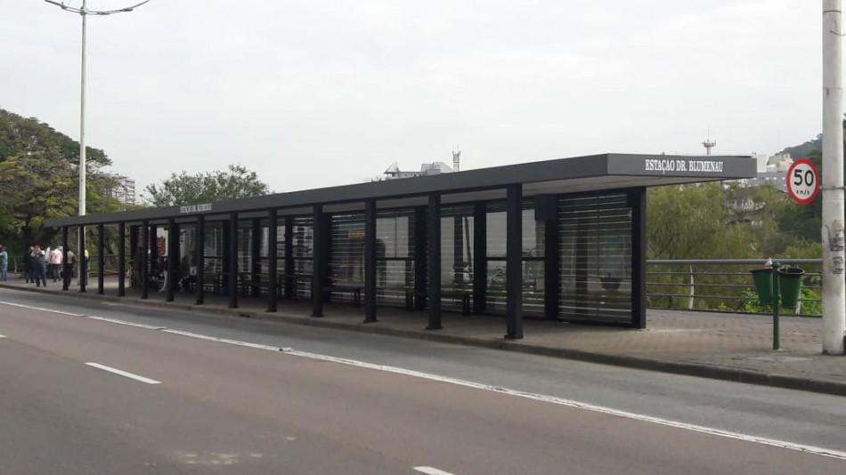 Reforma da Estação Dr. Blumenau é concluída
