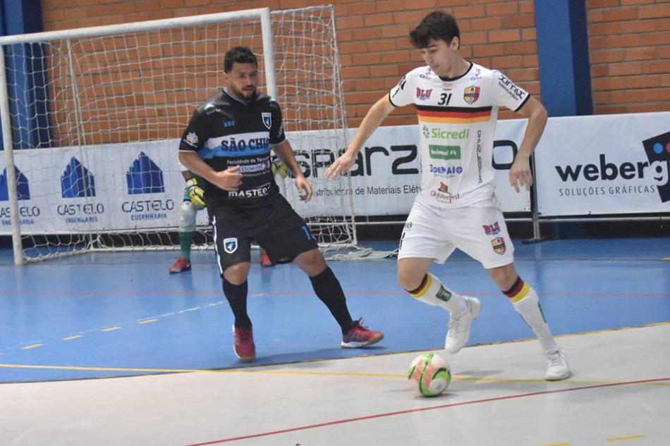 5b1eebf72676e Blumenau Futsal inicia venda de ingressos para jogo decisivo do ...