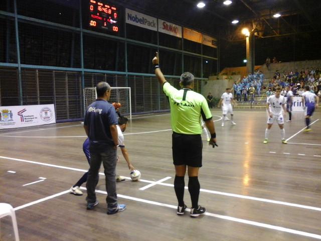 22e985406b185 A equipe de futsal adulto de Blumenau (Blumenau SCF) tem mais um jogo pela Liga  Nacional de Futsal nesta semana. A partida contra o time Intelli Orlândia  ...