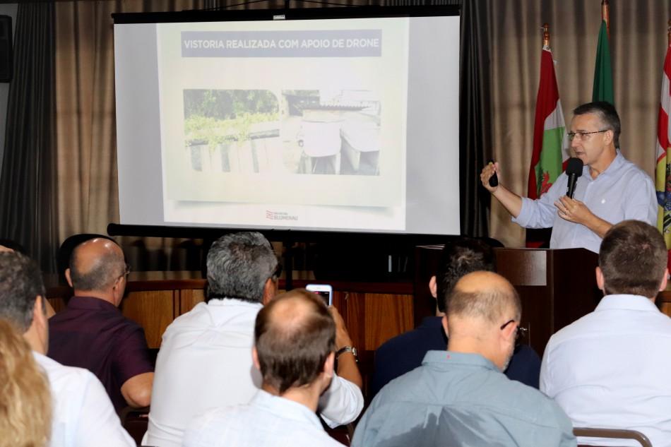 Focos de dengue aumentam quase 700% em Blumenau em 2020