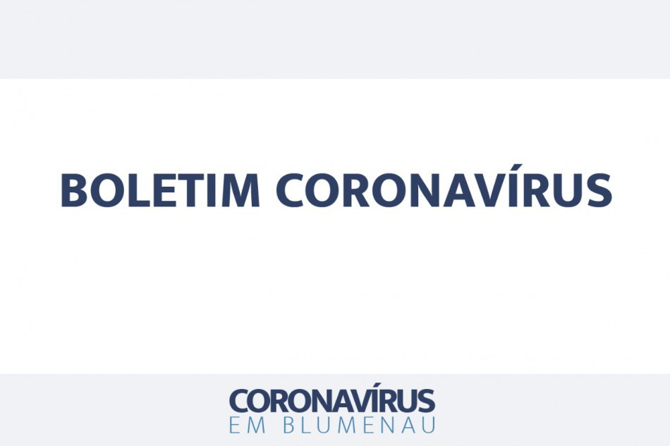 Boletim Coronavírus Blumenau - 26/10/2020