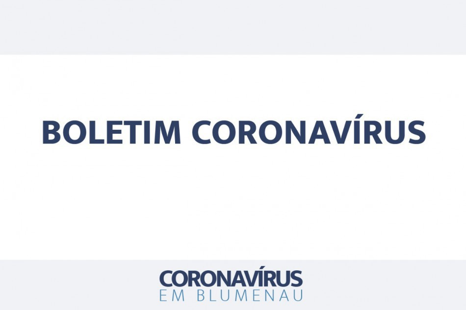 Boletim Coronavírus Blumenau - 23/07/2021