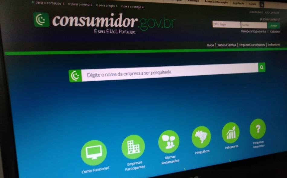 Consumidores contam com ferramenta on-line para fazer reclamações