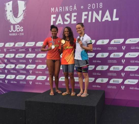 4bb6ddb414 Nadadoras de Blumenau vão ao pódio nos Jogos Universitários ...
