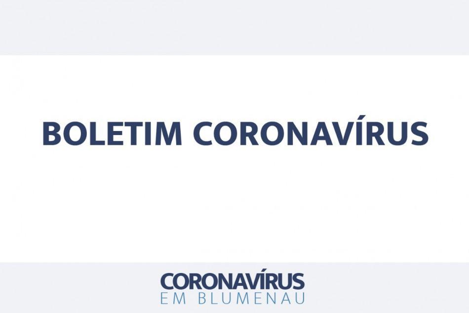 Boletim Coronavírus Blumenau - 29/7/2021