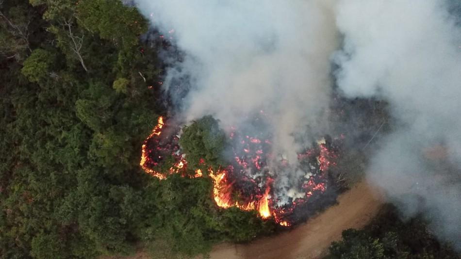 Defesa Civil alerta para o risco de incêndios durante a estiagem