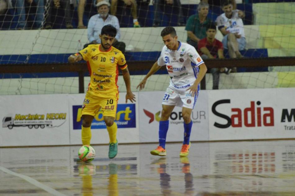 Futsal empata com Joaçaba na última rodada da primeira fase do Estadual -  Prefeitura de Blumenau 78c988b72f91a