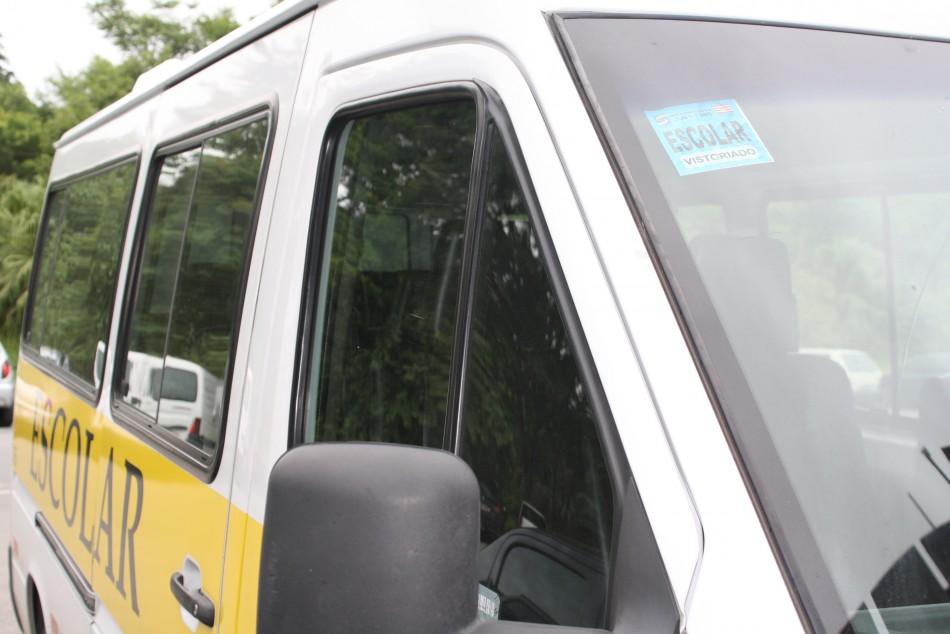 Veículos do transporte escolar são vistoriados pelo Seterb