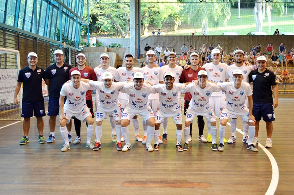 9def9a9b8a Mais notícias parecidas com Futsal de Blumenau encerra participação no  estadual com vitória