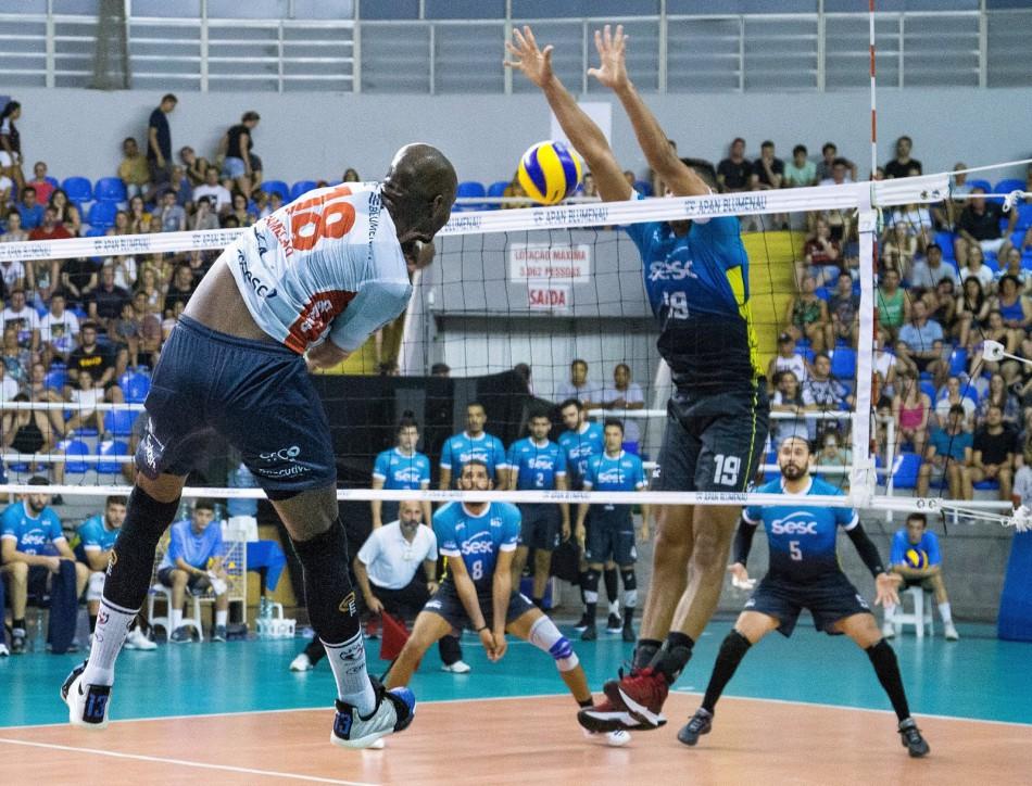 Uma vitória mantém a APAN na elite do voleibol brasileiro