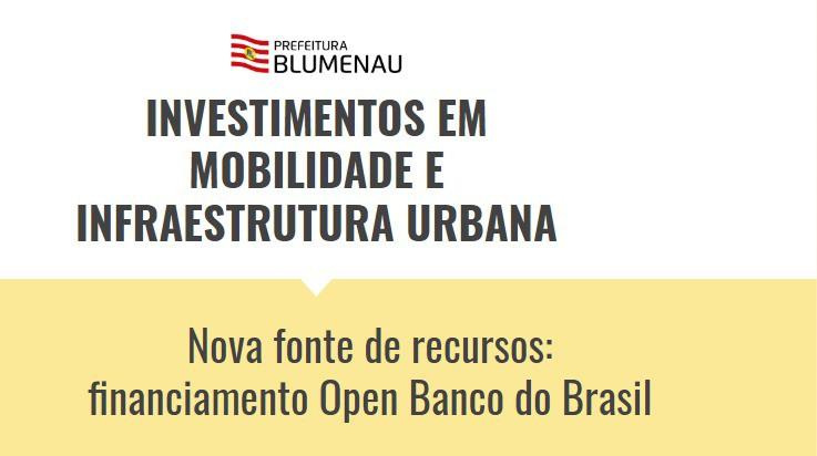 Prefeitura define investimentos em mobilidade e infraestrutura urbana no valor de R$ 80 milhões
