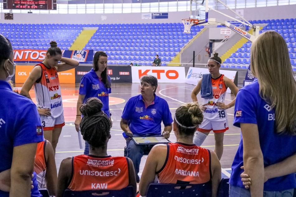 Blumenau perde duas partidas na Liga de Basquete Feminino por W.O