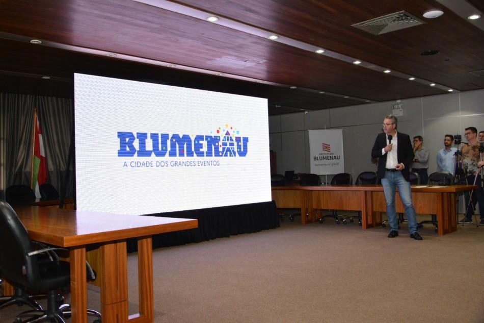 Turismo lança marca Blumenau, a cidade dos grandes eventos