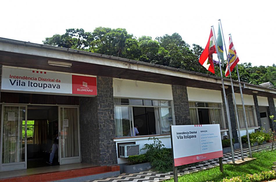 Prefeitura será transferida simbolicamente para a Vila Itoupava