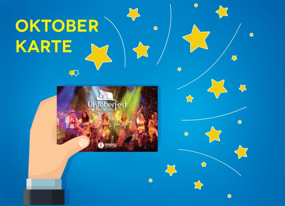 Oktoberfest Blumenau substitui tickets de papel pelo Oktober Karte