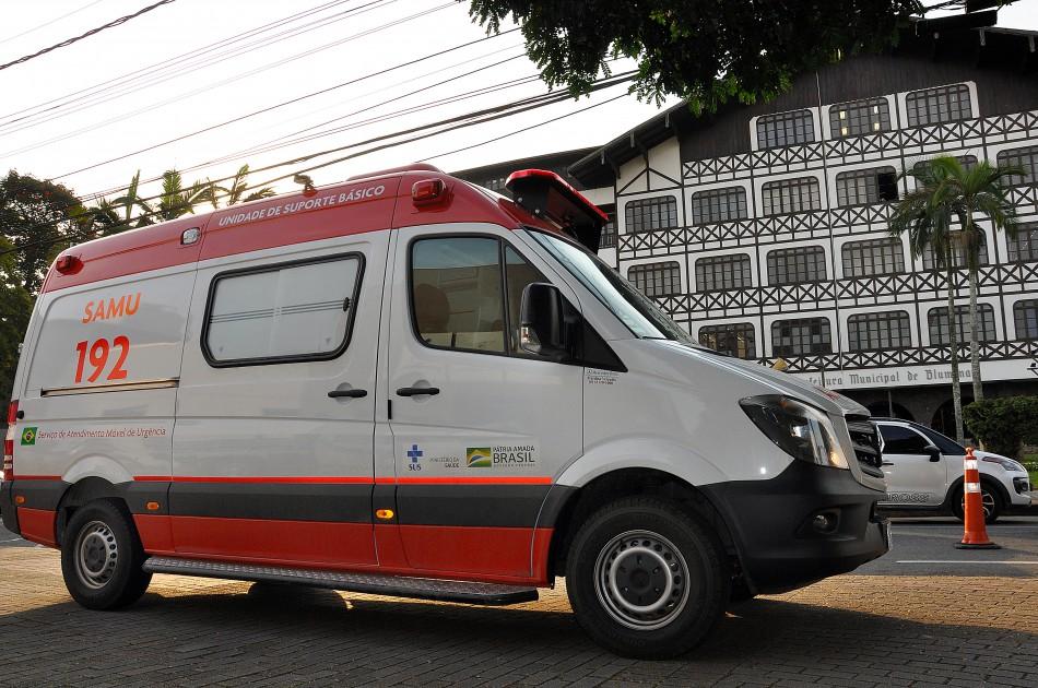 Novas ambulâncias do Samu já estão atendendo população de Blumenau
