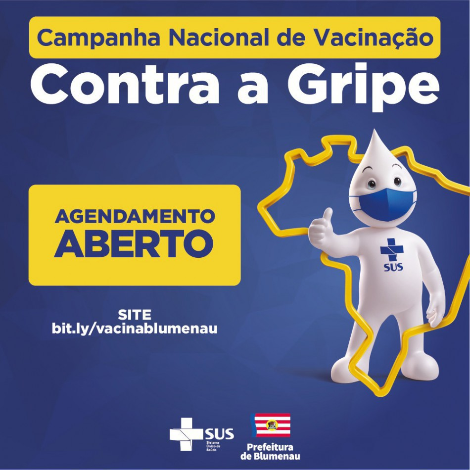 Prefeitura disponibiliza mais 6.500 vagas para agendamento da vacina contra a gripe