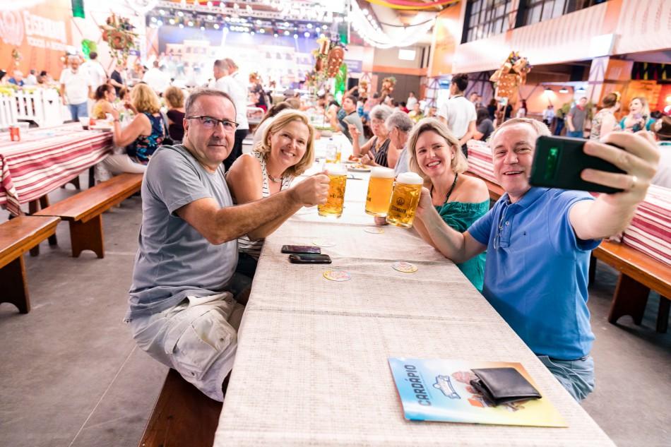 Organização da Sommerfest aumenta mesas no Setor Eisenbahn Biergarten