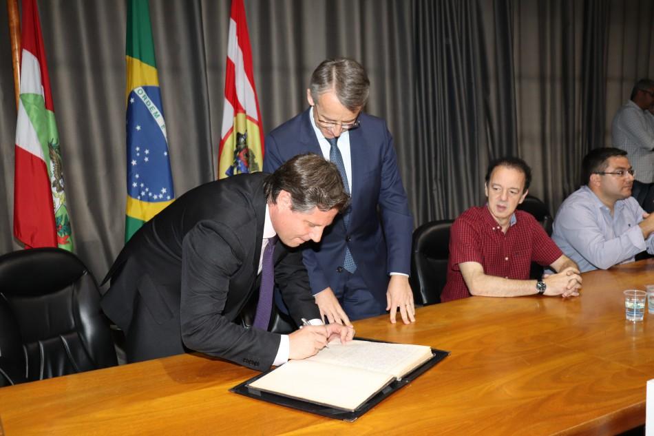 Marcelo Lanzarin assume como prefeito interino a partir desta terça-feira