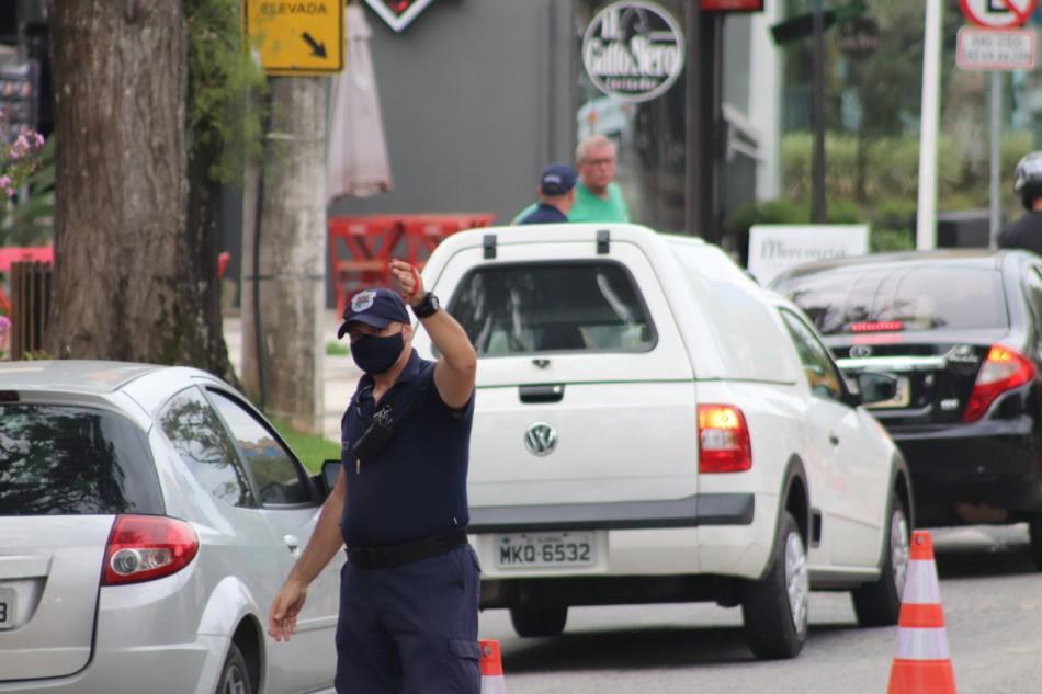 GMT sugere rotas alternativas aos motoristas que trafegam pela Alameda Rio Branco